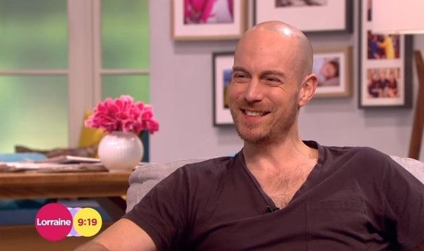 Matthew Gravelle talks Broadchurch return on Lorraine, ITV Studios, London 7 January