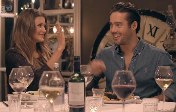 Lauren Hutton & Spencer Matthews in an episode of Made In Chelsea
