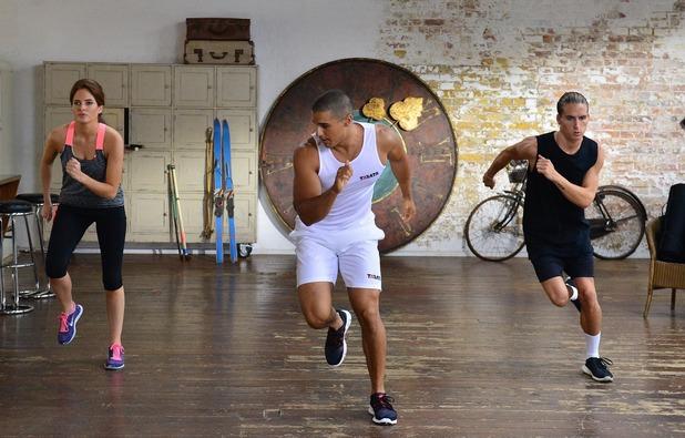 MIC:FIT Binky & Proudlock doing the Tabata workout