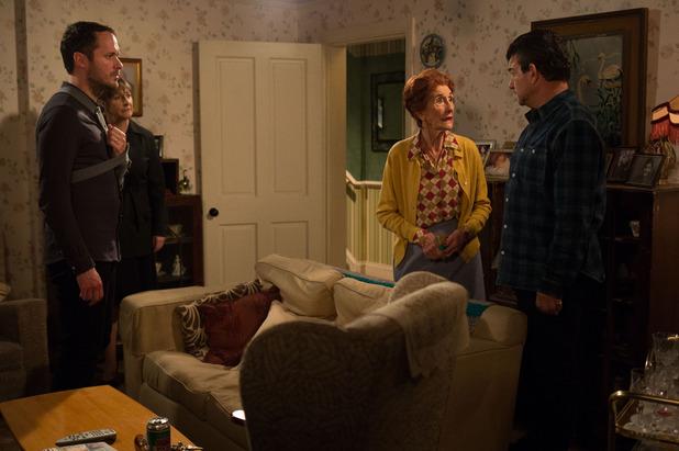 EastEnders, Charlie confronts Nick, Tue 13 Jan