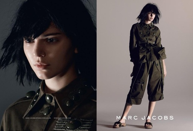 Kendall Jenner poses in the new Marc Jacobs spring/summer '15 campaign - 9 January 2015