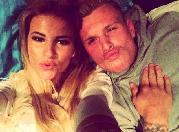 Georgia Kousoulou takes a selfie with boyfriend Tommy Mallet 10 November
