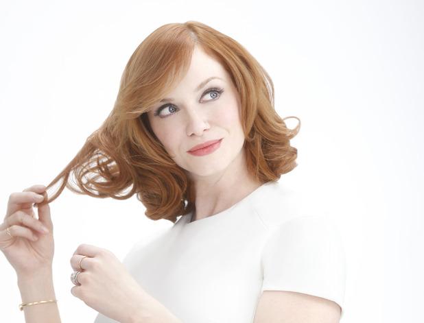 Christina Hendricks is announced as the new face of home hair colour brand Nice 'N Easy - 7 January 2015