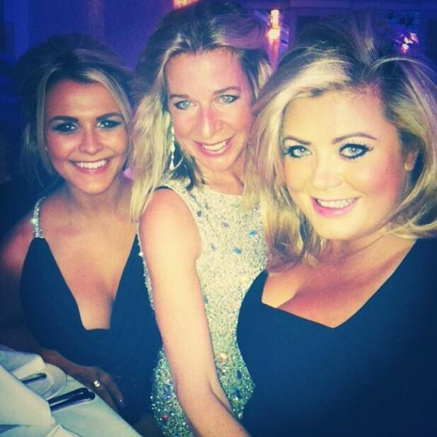 Gemma Collins shares picture with Katie Hopkins after CBB star makes dig about her weight in the house, 9 January 2015