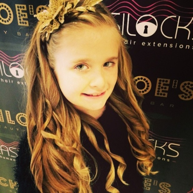 Chloe Sims shares pictures of her daughter Madison - 6 Jan 2015