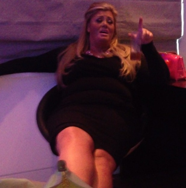 TOWIE's Gemma Collins does her best Simon Cowell impression - 9 Jan 2015