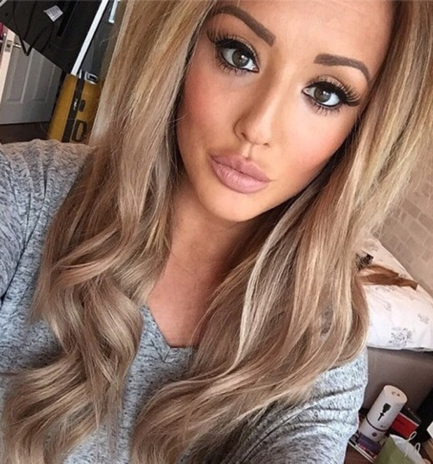 Charlotte Crosby selfie 17 December 2014