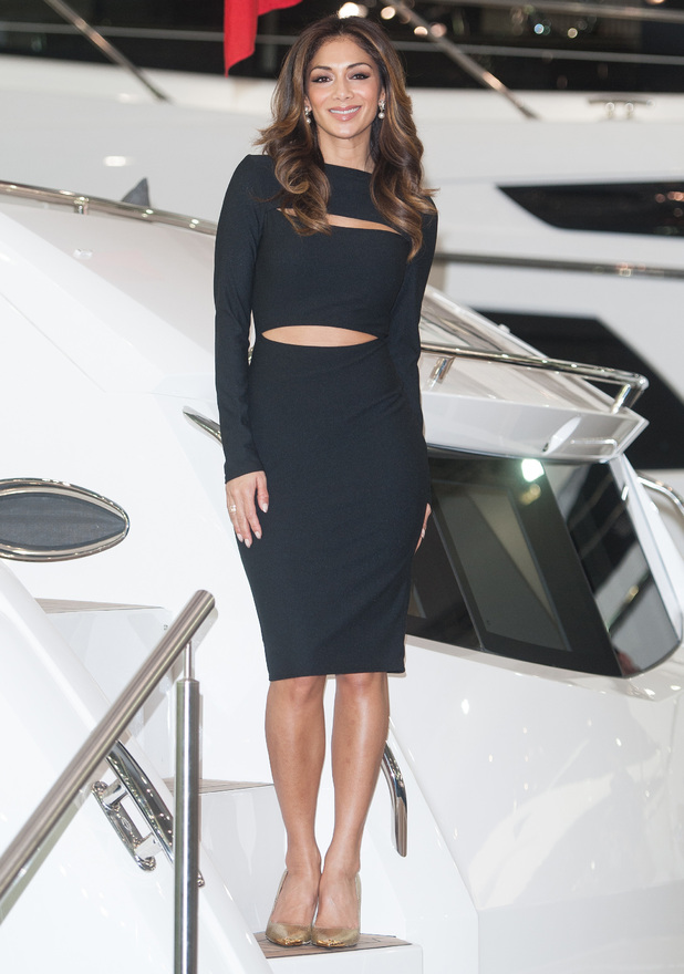 Nicole Scherzinger at the London Boat Show held at the ExCeL exhibition centre in London - 8 January 2015
