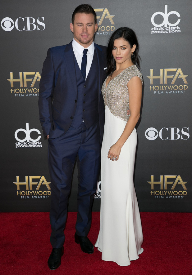 Jenna Dewan-Tatum and Channing Tatum attend the 18th Annual Hollywood Film Awards in Los Angeles, America - 14 November 2014