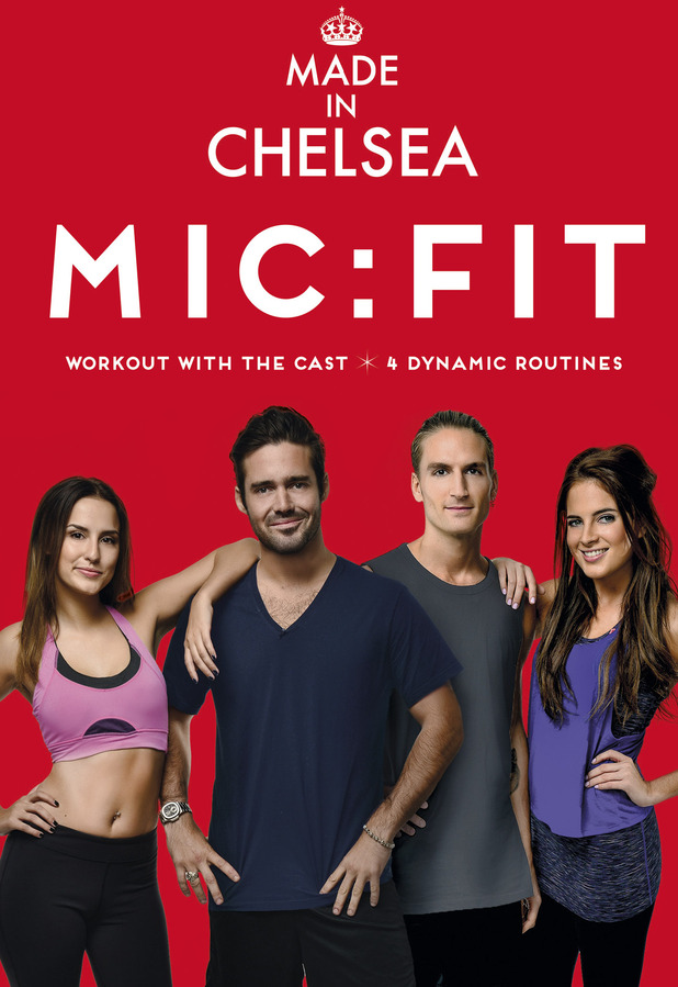 MIC:FIT DVD Cover - Binky, Proudlock, Lucy & Spencer