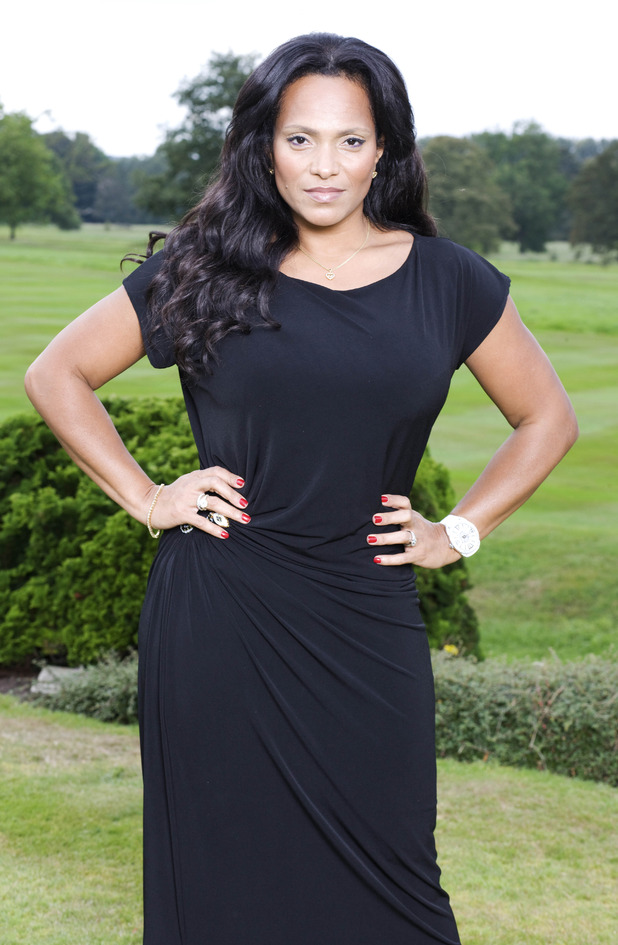 Magali Gorre, from ITVBe's The Real Housewives of Cheshire