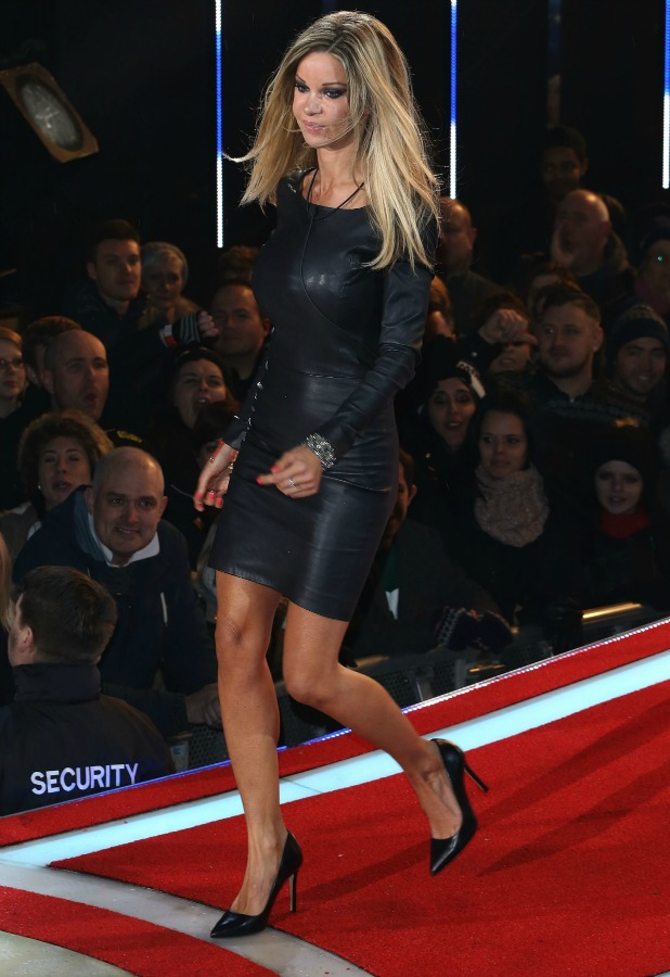 Celebrity Big Brother series launch on 7 January 2015 - Alicia Douvall