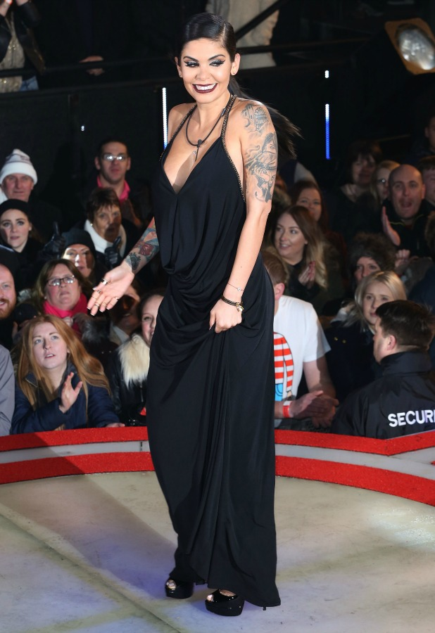 Celebrity Big Brother series launch on 7 January 2015 - Cami Li