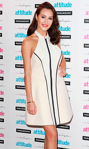 Chloe Goodman, Attitude Hot 100 Party at the Paramount - Arrivals, 2014