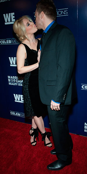 Heidi Montag and Spencer Pratt at Marriage Bootcamp premiere, LA, 8 January 2015