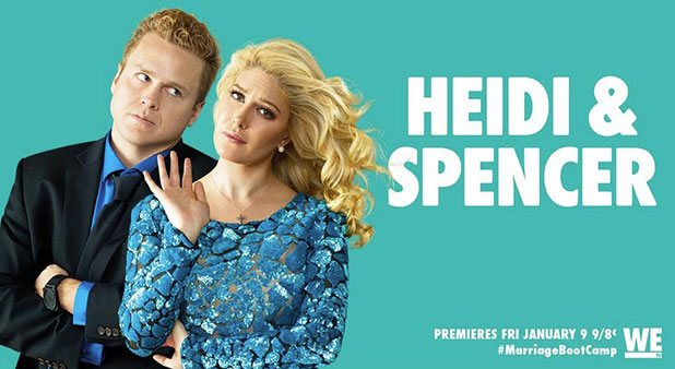 Spencer Pratt and Heidi Montag to star in WE tv's Marriage Boot Camp, January 2015