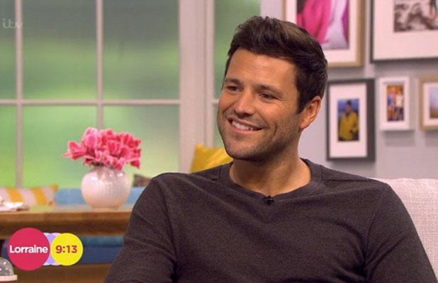 Mark Wright appearing on ITV's Lorraine, 8 January 2015