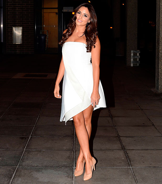 Nadia Forde at RTÉ Studios for taping of 'The Saturday Night Show', 3 January 2014