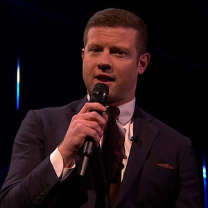 Dermot O'Leary on X Factor  - 11/23/2014.