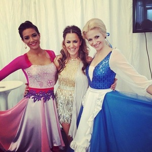 Caroline Flack, Frankie Bridge and Pixie Lott on Strictly Come Dancing 11 October