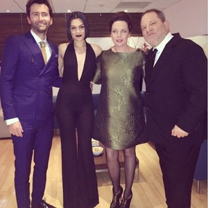 Jessie and Braodchurch's David Tennant and Olivia Colman appear on The Graham Norton Show - 15/1/15.