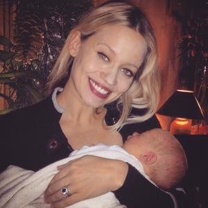 Kimberly Wyatt and daughter Willow Jane 7 January