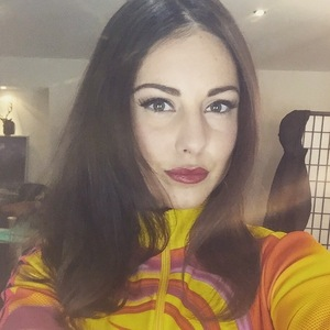 Louise Thompson trains for The Jump 10 January