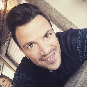 Peter Andre takes selfie for Instagram 14 January