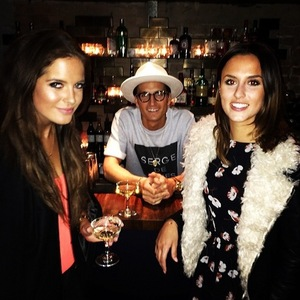 Oliver Proudlock, Binky Felstead, Lucy Watson at Thomson Scene launch, London 14 January