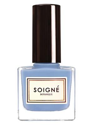 Soigné Nail Polish in Glaçage Bleu, £11