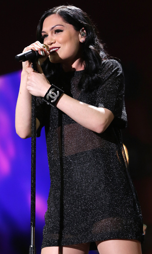 Jessie J performs onstage during 93.3 FLZ?s Jingle Ball 2014 at Amalie Arena on December 22, 2014 in Tampa, Florida.