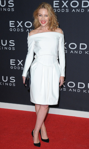 Kylie Minogue, New York Premiere of 'Exodus: Gods And Kings' at the Brooklyn Museum, New York 7 December 2014