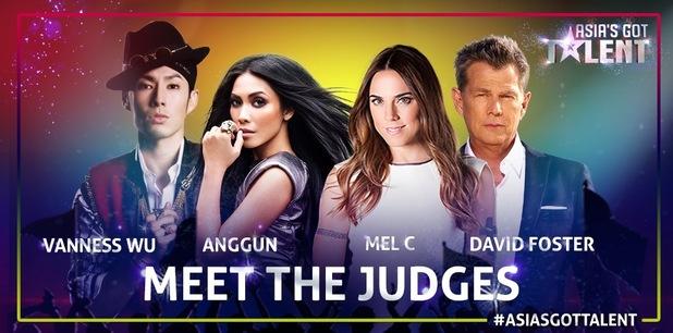 Mel C announced as a judge on Asia's Got Talent - 14 Jan 2015