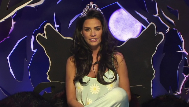 Katie Price talks to BB in the 'Celebrity Big Brother 15' house, 17 January 2015