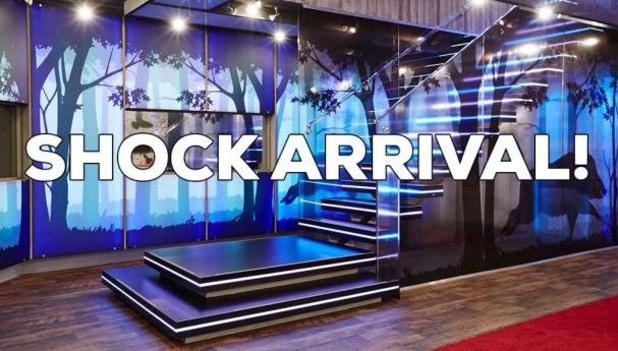 Celebrity Big Brother - CBB: shock arrival - 16/1/2015.