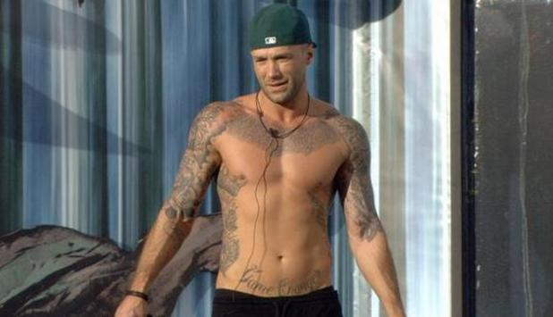Calum Best on Celebrity Big Brother - 13/1/2015.