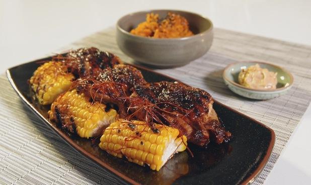 Judy Joo's Korean BBQ Kalbi