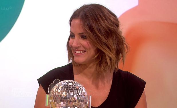 Caroline Flack on ITV's Loose Women - 12 January 2015.