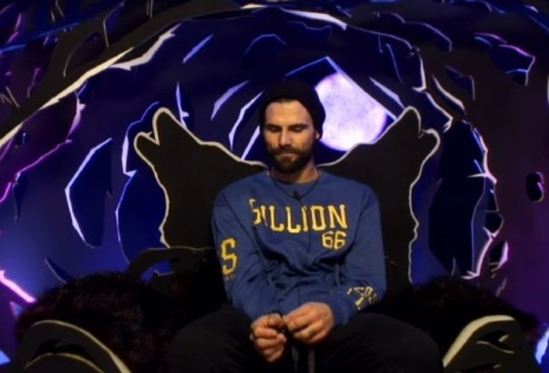 CBB's Jeremy Jackson is ejected from the house - 10 Jan 2015