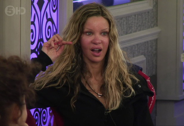 Alicia Douvall in the CBB house - 12/1/ 2015