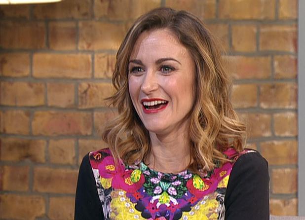 Katherine Kelly promoting the third series of ITV1 drama 'Mr Selfridge', on 'This Morning'. Shown on ITV1 HD -  01/15/2015.