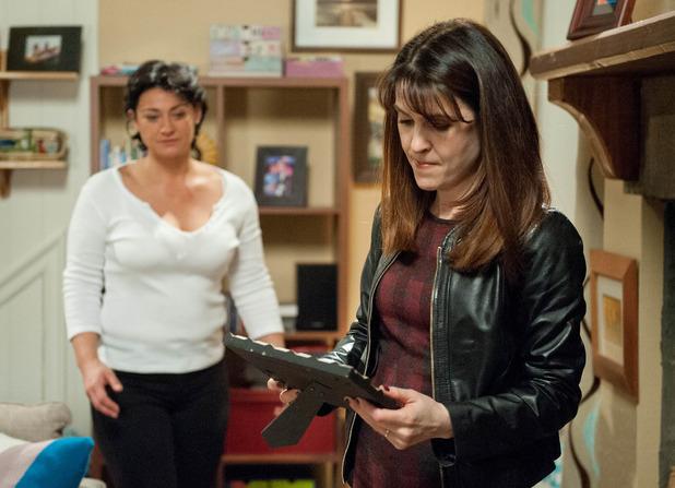 Emmerdale, Emma confronts Moira, Wed 14 Jan