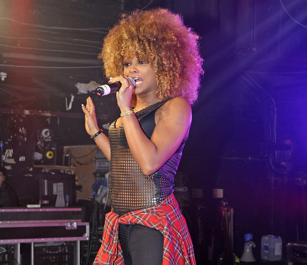 'The X Factor' UK runner up Fleur East performs live at G-A-Y. At the end of her performances Fluer made a 'pinky promise' with club owner Jeremy Joseph to debut her first ever single at the venue. - 10/1/2015