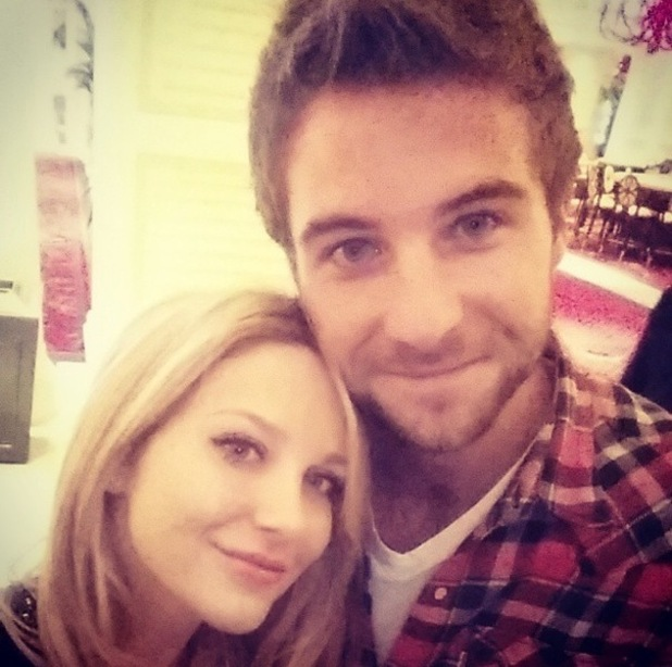 Stephanie Pratt and Josh Shepherd in Vegas, USA 16 January