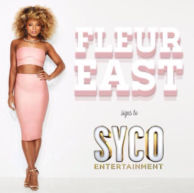 X Factor runner-up Fleur East signs to Syco - 12/1//15.