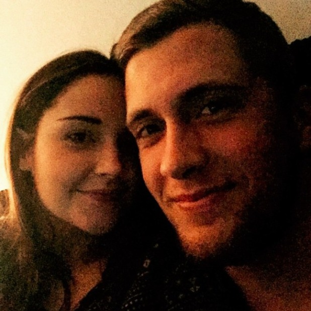 Pregnant Jacqueline Jossa shares loved-up snap with beau Dan Osborne, 17 January 2015