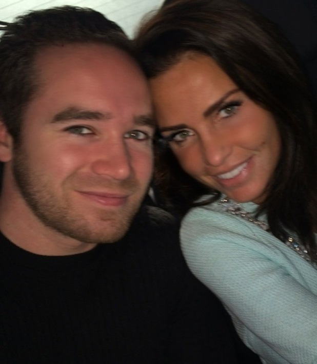 Katie Price and Kieran Hayler celebrate their second wedding anniversary - 16 Jan 2015