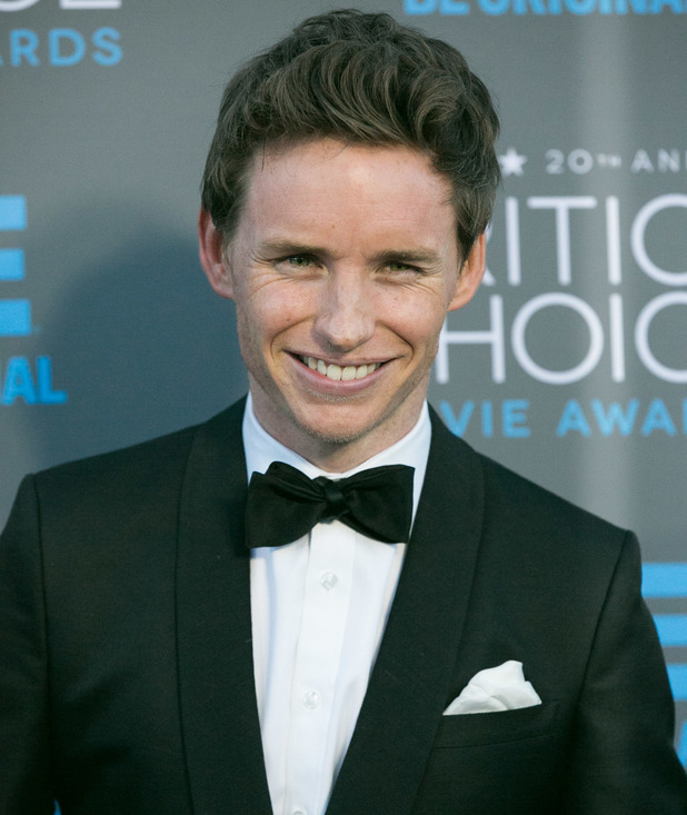 Eddie Redmayne at 20th Annual Critics' Choice Movie Awards at Hollywood Palladium - 15 Jan 2015