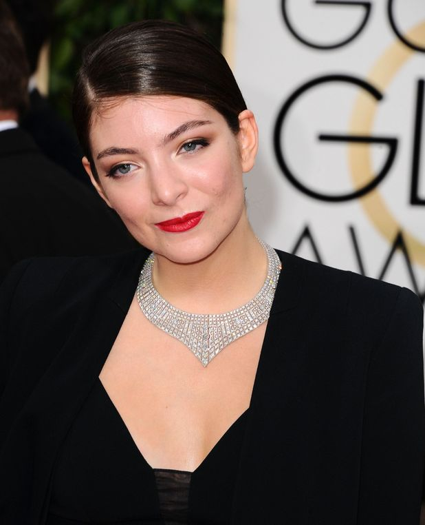 Lorde, 72nd Annual Golden Globe Awards, Arrivals, Los Angeles, America - 11 Jan 2015