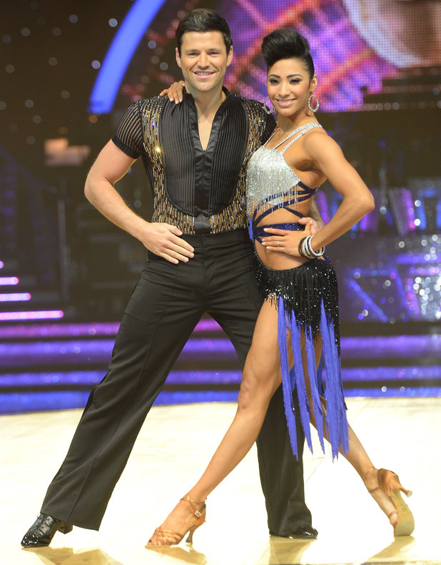 Mark Wright and Karen Haeur at Strictly Tour press call, Birmingham 15 January